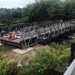 Быстровозводимый автотранспортный балочный мост с бетонными опорами., Тамбов