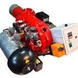 Горелка AL-35V (120-360 кВт) для котла на отработанном масле, Тамбов